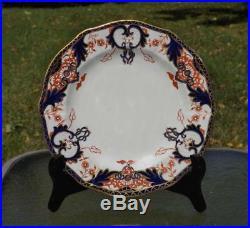 2 Royal Crown Derby Imari Kings Salad Plates Pattern 3615 EXC