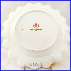 ROYAL PINXTON ROSES Royal Crown Derby Dinner Plate 10 NEW NEVER USED England