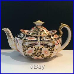 Royal Crown Derby 2451 Imari Teapot Ch5436