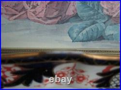 Royal Crown Derby England Imari Pattern 3615 Serving Platter 11