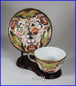 Royal Crown Derby Imari Cup & Saucer, Circa 1900