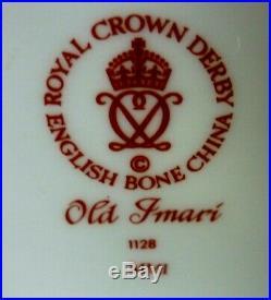 Royal Crown Derby Old Imari 1128 Gravy Sauce Boat