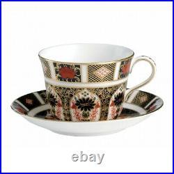 Royal Crown Derby Old Imari 1128 Tea Cup & Saucer